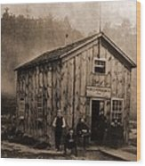 Peoples Petroleum Co., In 1865. With Wood Print