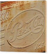 Pepsi Cola Remembered Wood Print