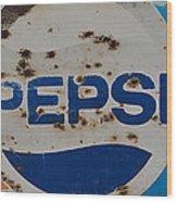 Pepsi Old Style Wood Print