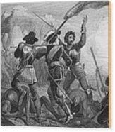 Pequot War, 1636-3 Wood Print