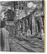 Perditit Ecclesia Tres Wood Print