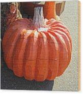 Perfect Pumpkin Forever Wood Print