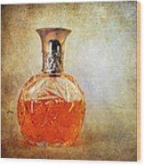 Perfume Bottle II Wood Print