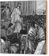 Pericles (c495-429 B.c.) Wood Print