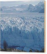 Perito Moreno Glacier, Tourist Overlook Wood Print