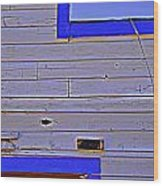 Periwinkle Sky Wood Print