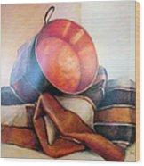 Perol Sobre Kepi Wood Print