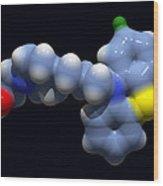 Perphenazine Antipsychotic Drug Wood Print