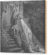 Perrault: Tom Thumb Wood Print by Granger