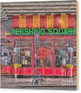 Pershing Square Central Cafe I Wood Print