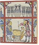 Persian Pharmacy, 13th Century Artwork Wood Print
