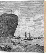 Peru: Arica, 1880 Wood Print