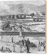 Peru: Chilean Army, 1881 Wood Print