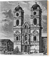 Peru: Jesuit Church, 1869 Wood Print