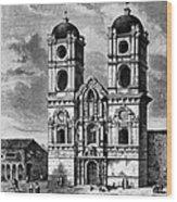 Peru: Jesuit Church, 1869 Wood Print