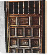 Peruvian Door Decor 18 Wood Print
