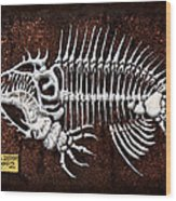 pescado Cuatro Wood Print