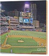 Petco Park San Diego Padres Wood Print