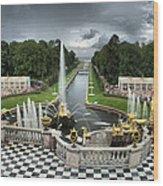 Peterhof Palace 16x9 Wood Print