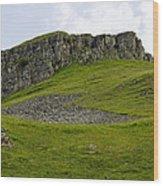 Peter's Stone - Derbyshire Wood Print