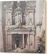 Petra Jordan Wood Print