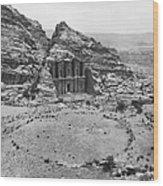 Petra, Jordan Wood Print by Photo Researchers