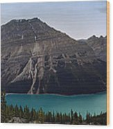 Peyto Lake - Canadian Rocky Mountains Wood Print