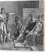 Phaedra And Hippolytus Wood Print