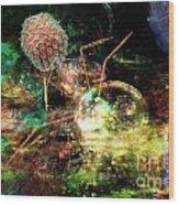 Phage Dreaming 1 Wood Print