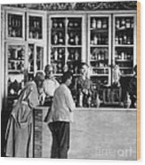 Pharmacy C. 1900 Wood Print
