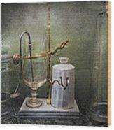 Pharmacy - Victorian Apparatus  Wood Print