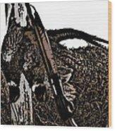 Pheasant Hunt Wood Print