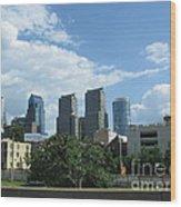 Philadelphia 02 Wood Print