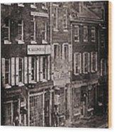 Philadelphia 1843 Wood Print