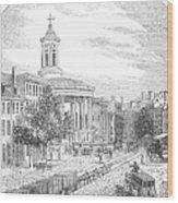 Philadelphia, 1854 Wood Print