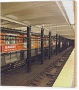 Philadelphia Broadstreet Subway Wood Print
