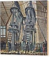 Philadelphia Expo: Engine Wood Print