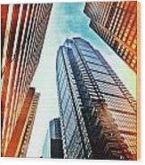 Philadelphia Gotham Wood Print