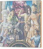 Philadelphia Wall Painting Wood Print