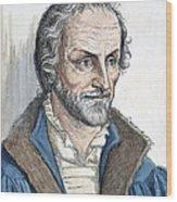 Philipp Melanchthon (1497-1560). German Scholar And Religious Reformer: Line Engraving, German, 19th Century Wood Print