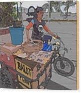 Philippines 934 Balut Wood Print