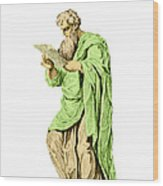 Philippos Of Acarnania, Physician Wood Print