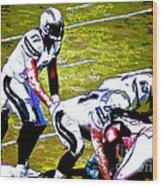 Phillip Rivers Quarterback Wood Print