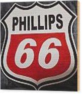 Phillips 66 Wood Print
