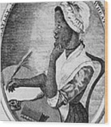 Phillis Wheatley 1753-1784, The First Wood Print
