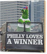 Philly Loves A Winner Wood Print