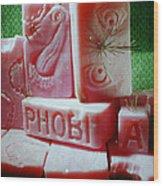 Phobia Wood Print
