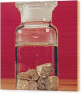 Phosphorus In A Jar Wood Print by Andrew Lambert Photography