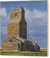 Photograph Of A  Prairie Barn Wood Print