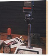 Photographic Enlarger Wood Print